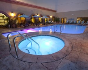 Very relaxing afternoons can be spent in the hot tub and pool at Chumash.